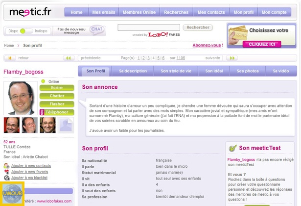 Meetic site pour pc